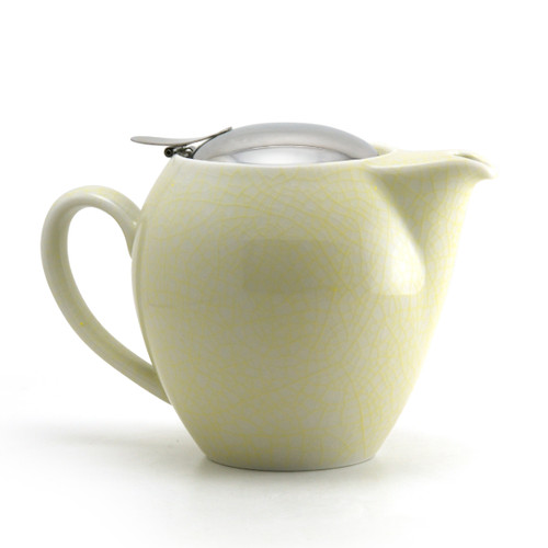 Yellow Artisan Crackle Universal Teapot 580ml