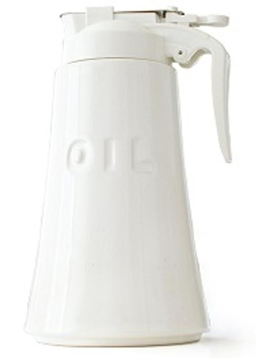 White Oil Dispenser 550ml