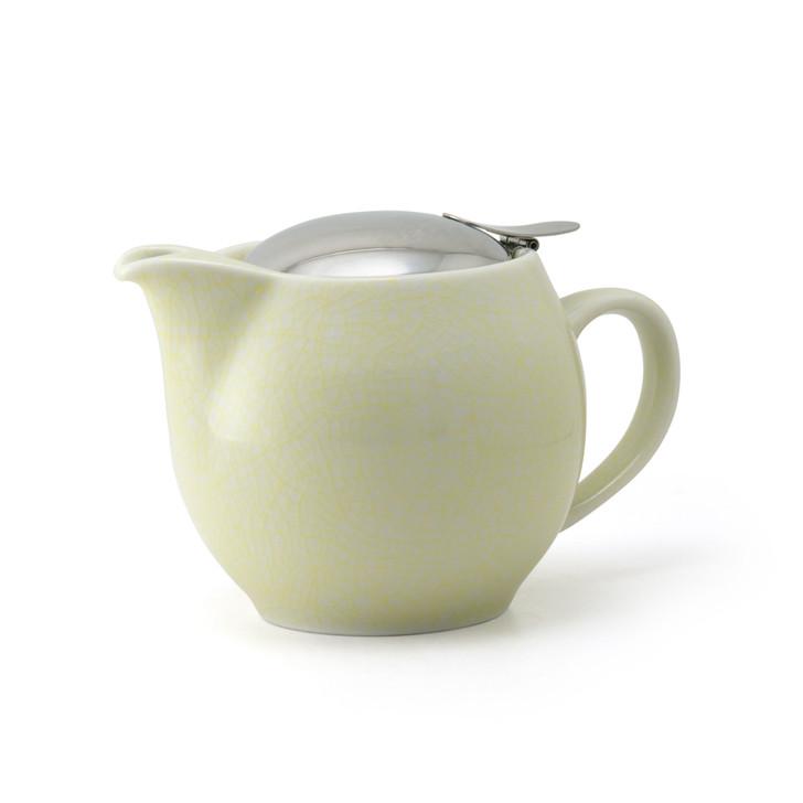 Yellow Artisan Crackle Universal Teapot 450ml
