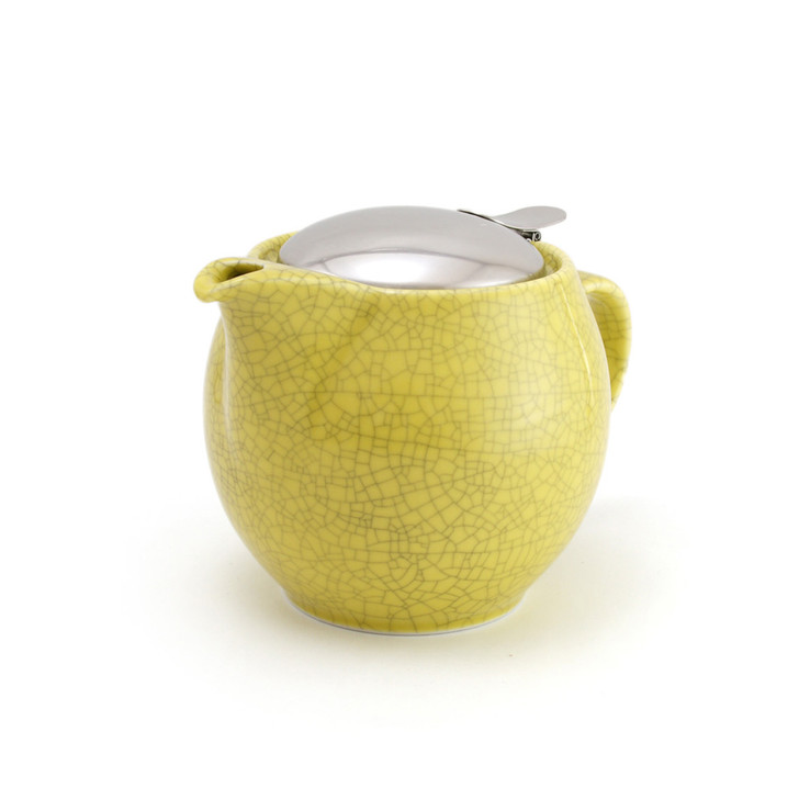 Yellow Crackle Universal Teapot 450ml