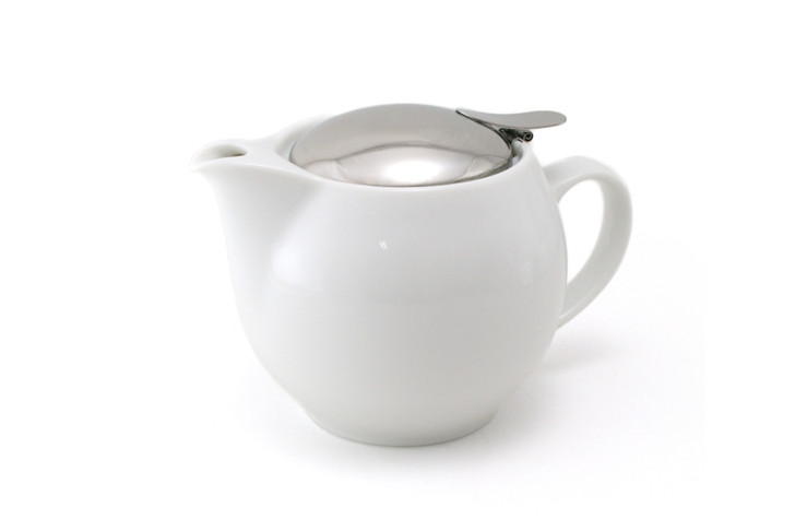 White Universal Teapot 450ml