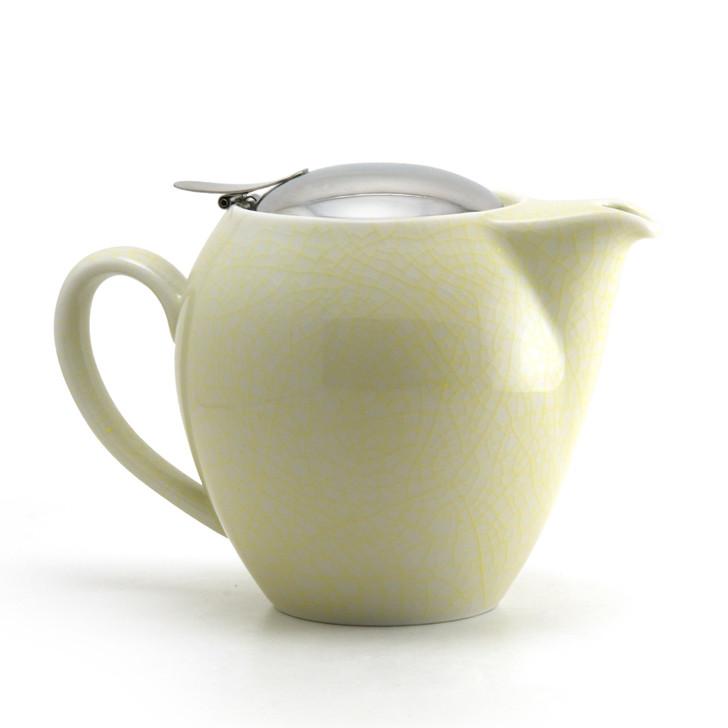 Yellow Artisan Crackle Universal Teapot 580ml