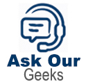 Ask our geeks