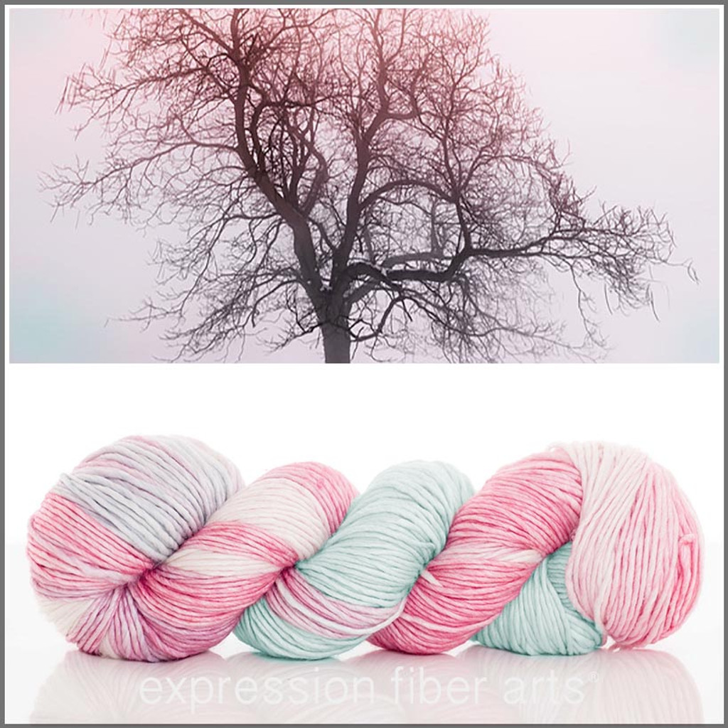 PINK FROST 'PEARLESCENT' WORSTED