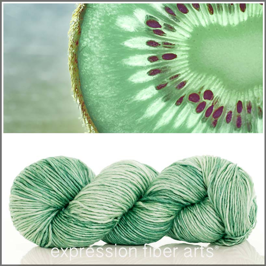 FADED KIWI 'PEARLESCENT' WORSTED