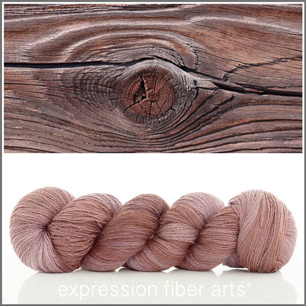 WOODGRAIN YAK SILK LACE