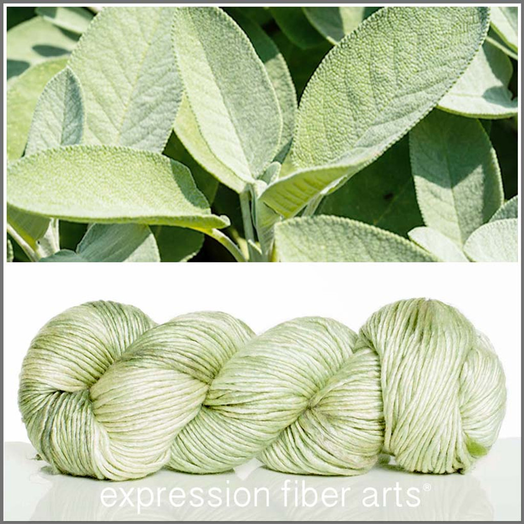 SAGE 'PEARLESCENT' WORSTED