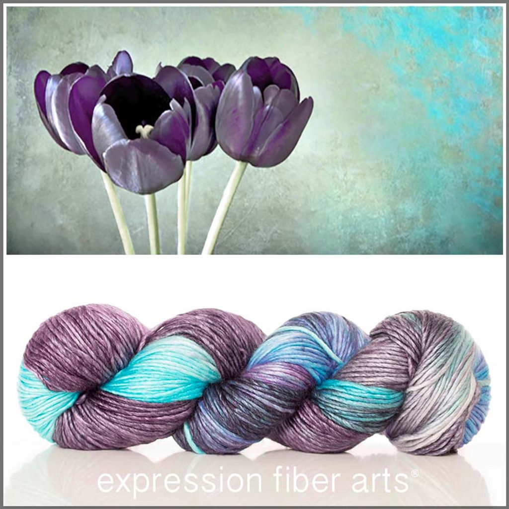 FADED TULIPS 'PEARLESCENT' WORSTED