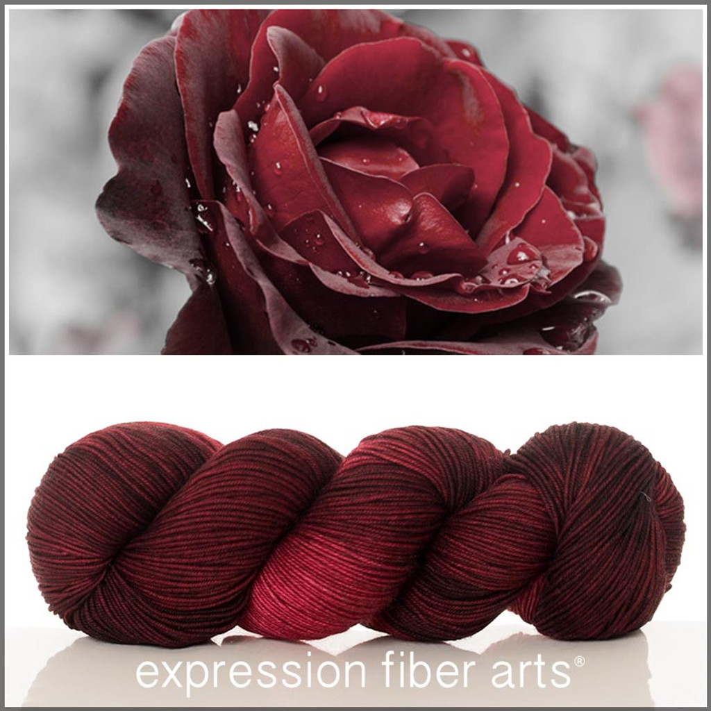 RED VELVET ROSE 'RESILIENT' SOCK
