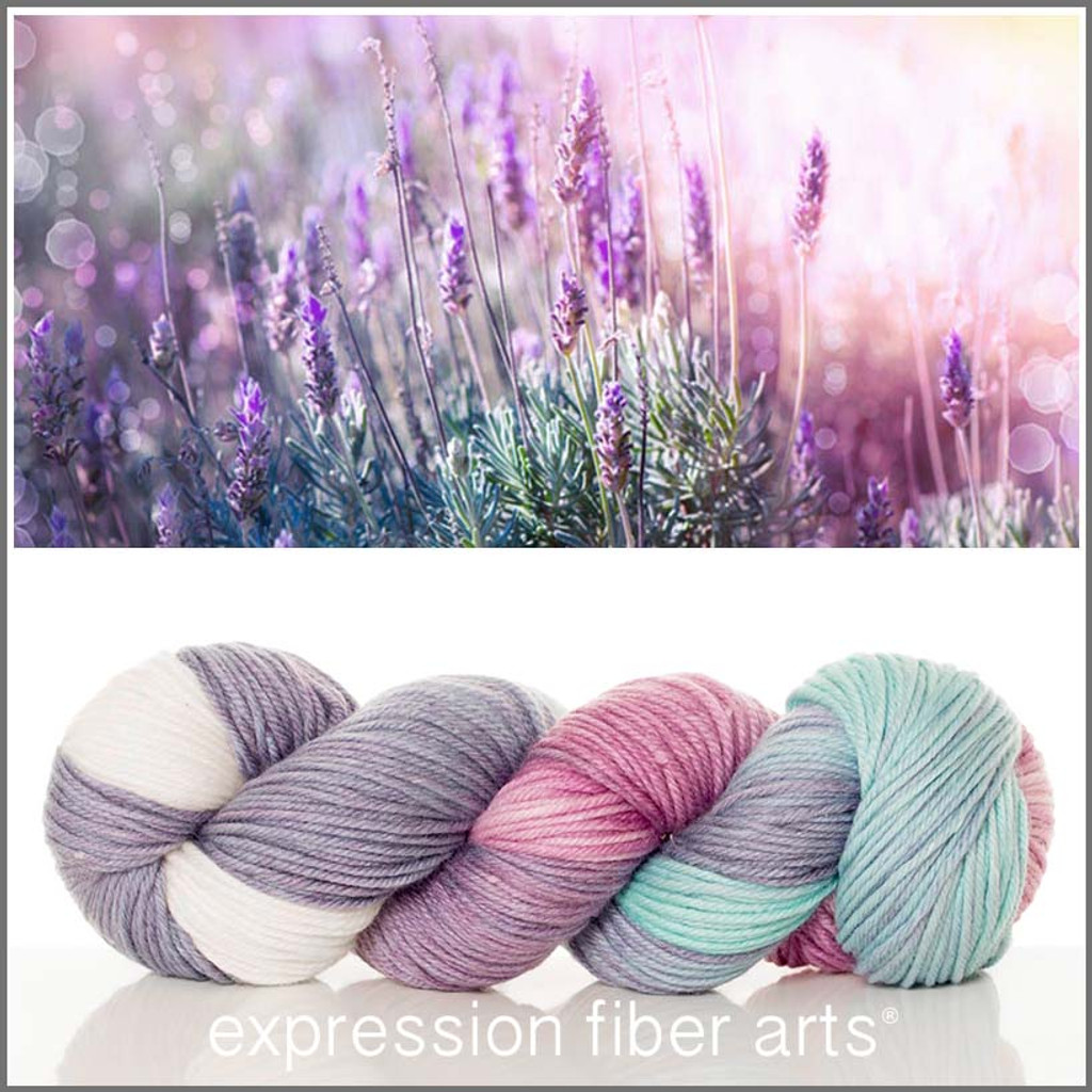 LAVENDER AND LIGHT 'DEWY' DK