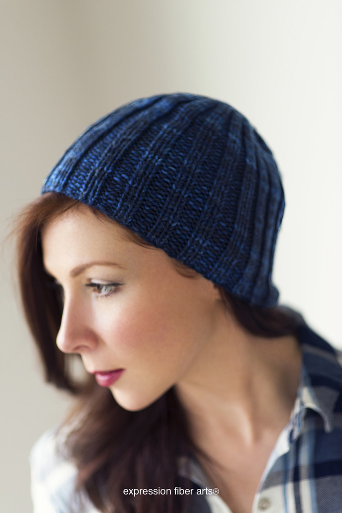 Beginner's Knitted Hat Kit - Choose Your Color