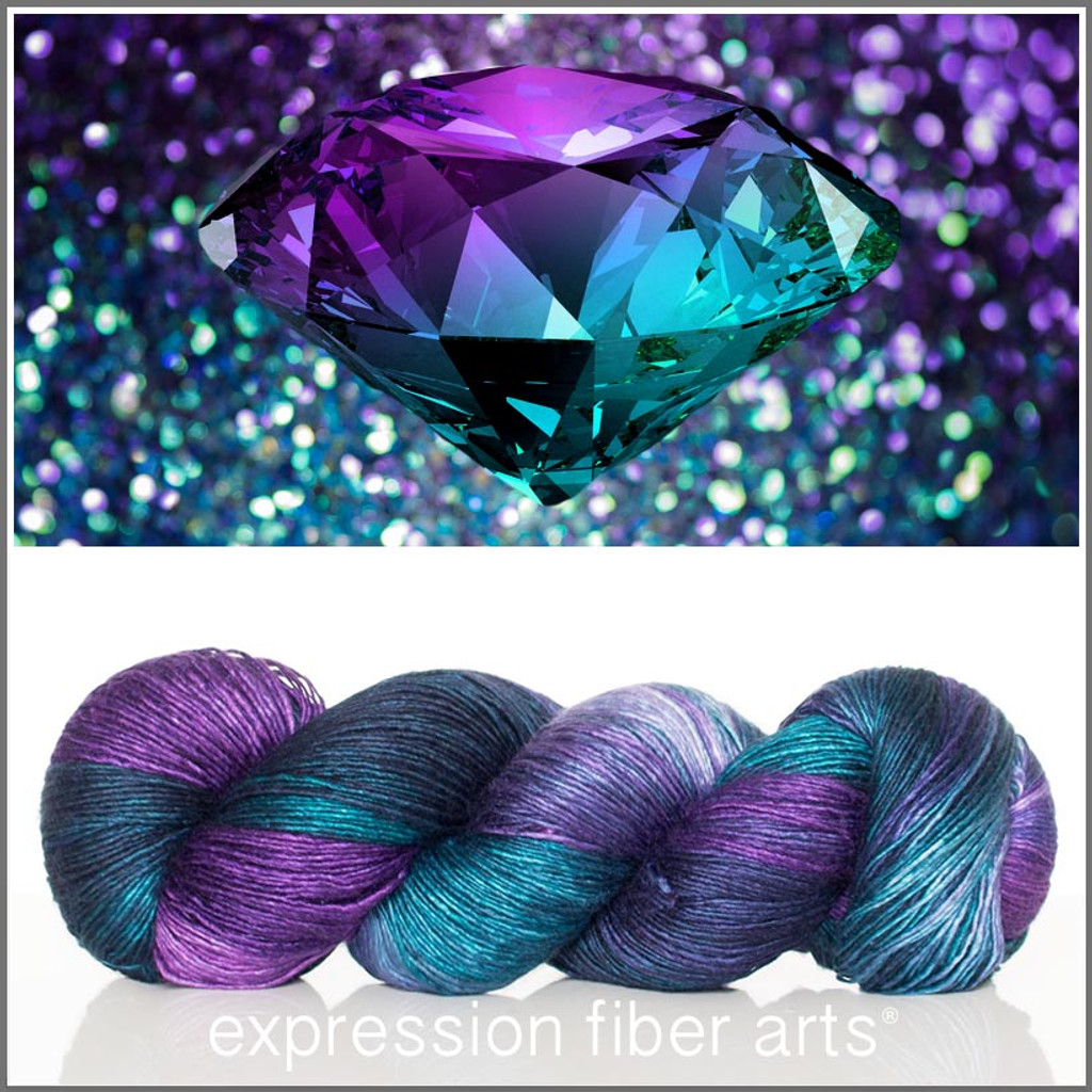 JUNE ALEXANDRITE 'PEARLESCENT' FINGERING