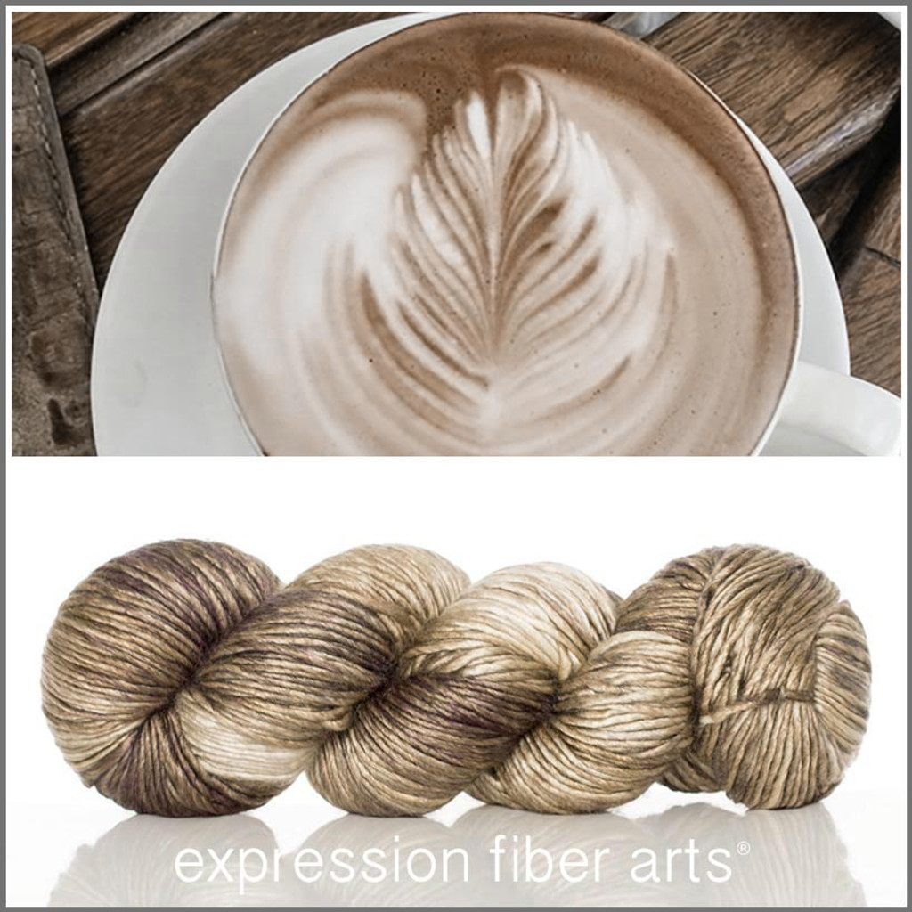 CAPPUCCINO 'PEARLESCENT' WORSTED