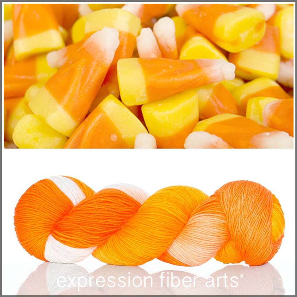 CANDY CORN 'RESILIENT' SOCK