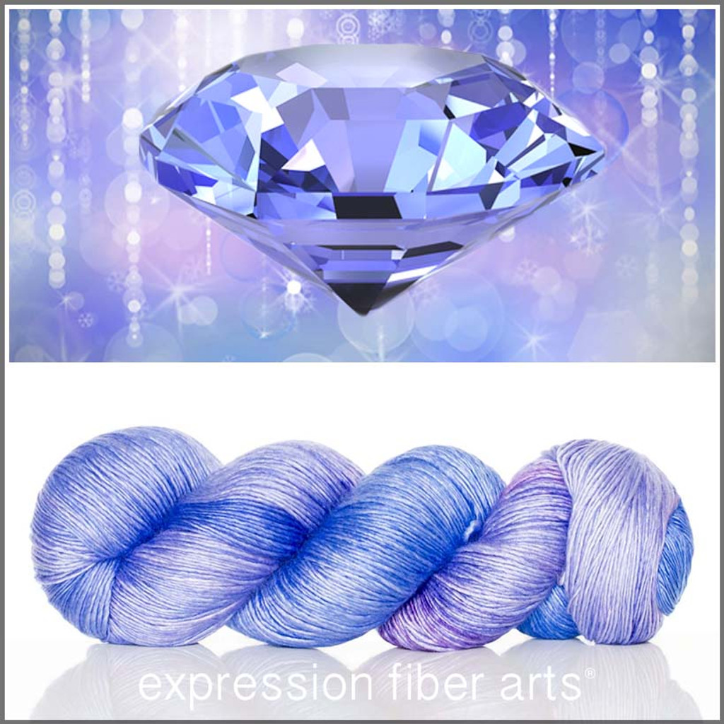 DECEMBER TANZANITE 'PEARLESCENT' FINGERING
