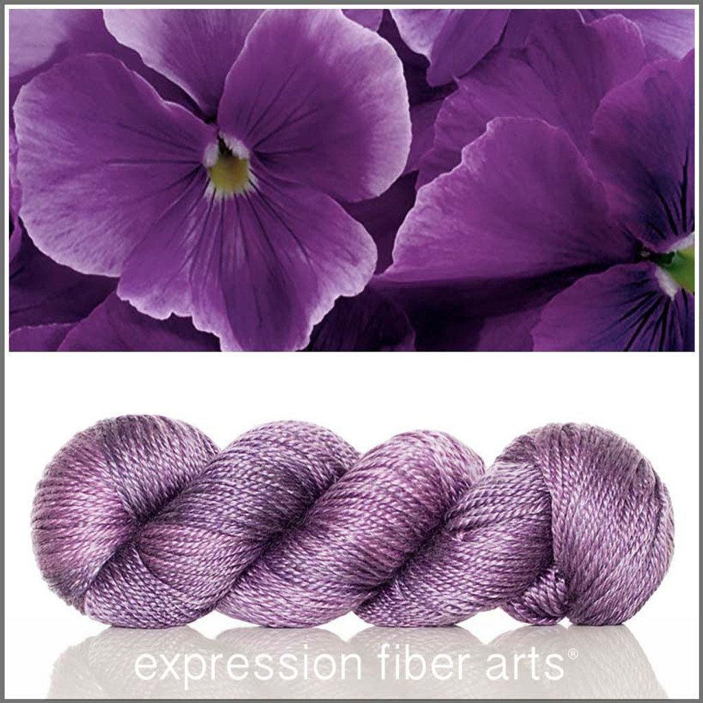 PANSY 'LUSTER' WORSTED