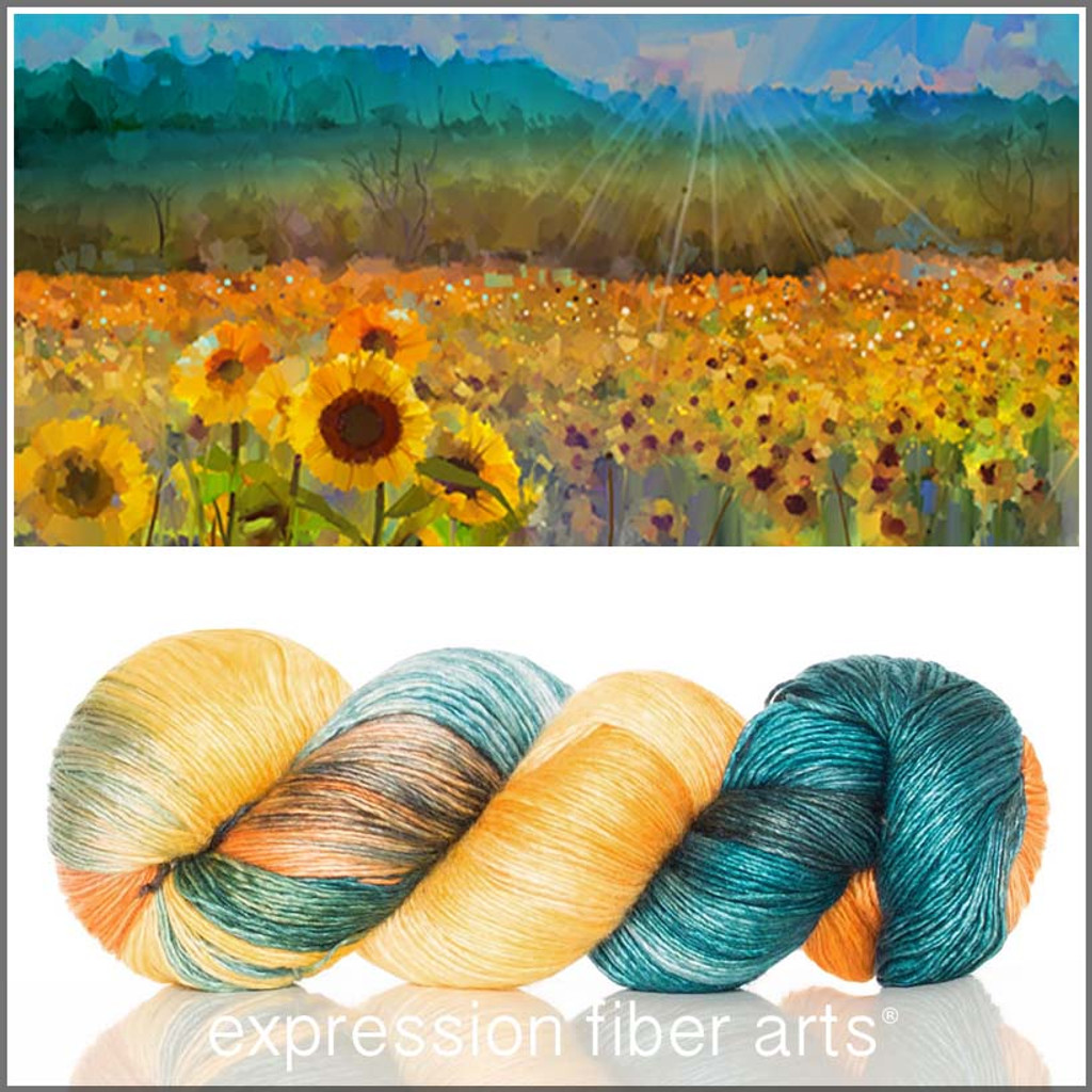 SUNFLOWER MEADOW 'PEARLESCENT' FINGERING