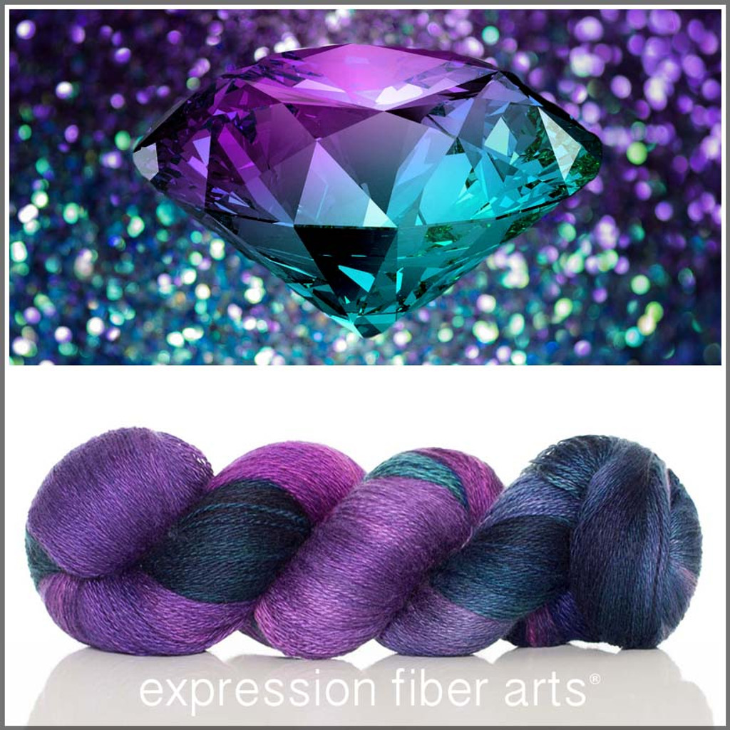 JUNE ALEXANDRITE YAK SILK LACE
