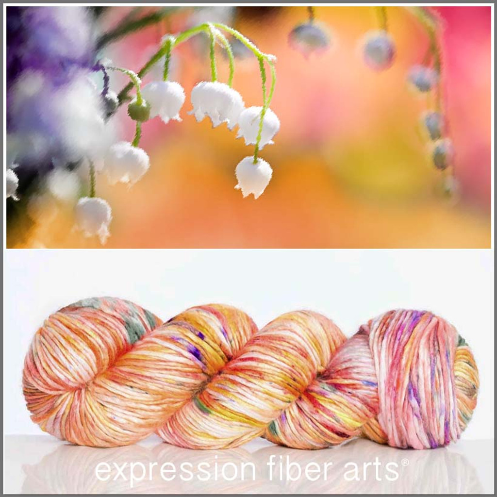 MAY LILY OF THE VALLEY 'PEARLESCENT' WORSTED