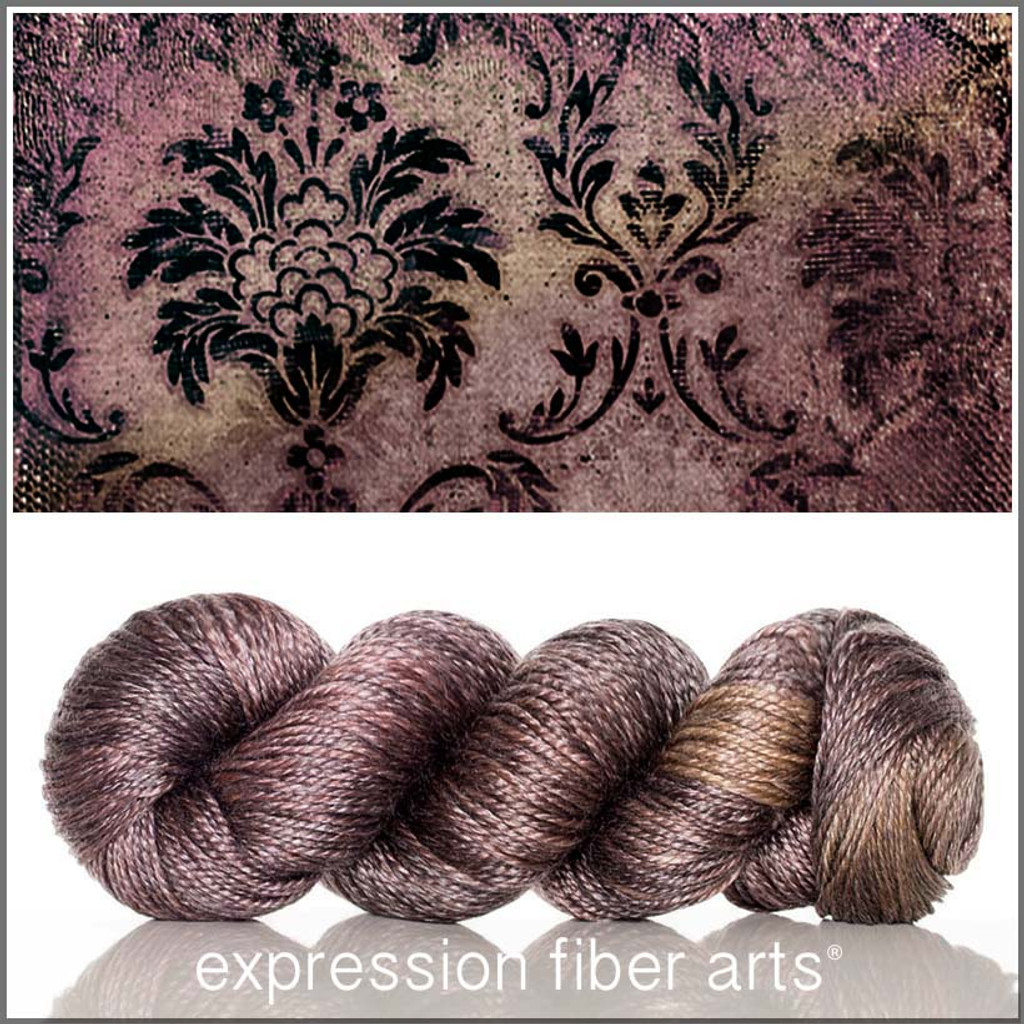 BROCADE 'LUSTER' WORSTED