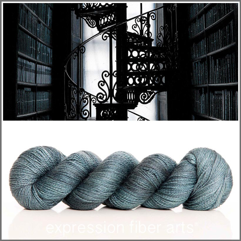 GRANDFATHER'S LIBRARY ALPACA SILK LACE