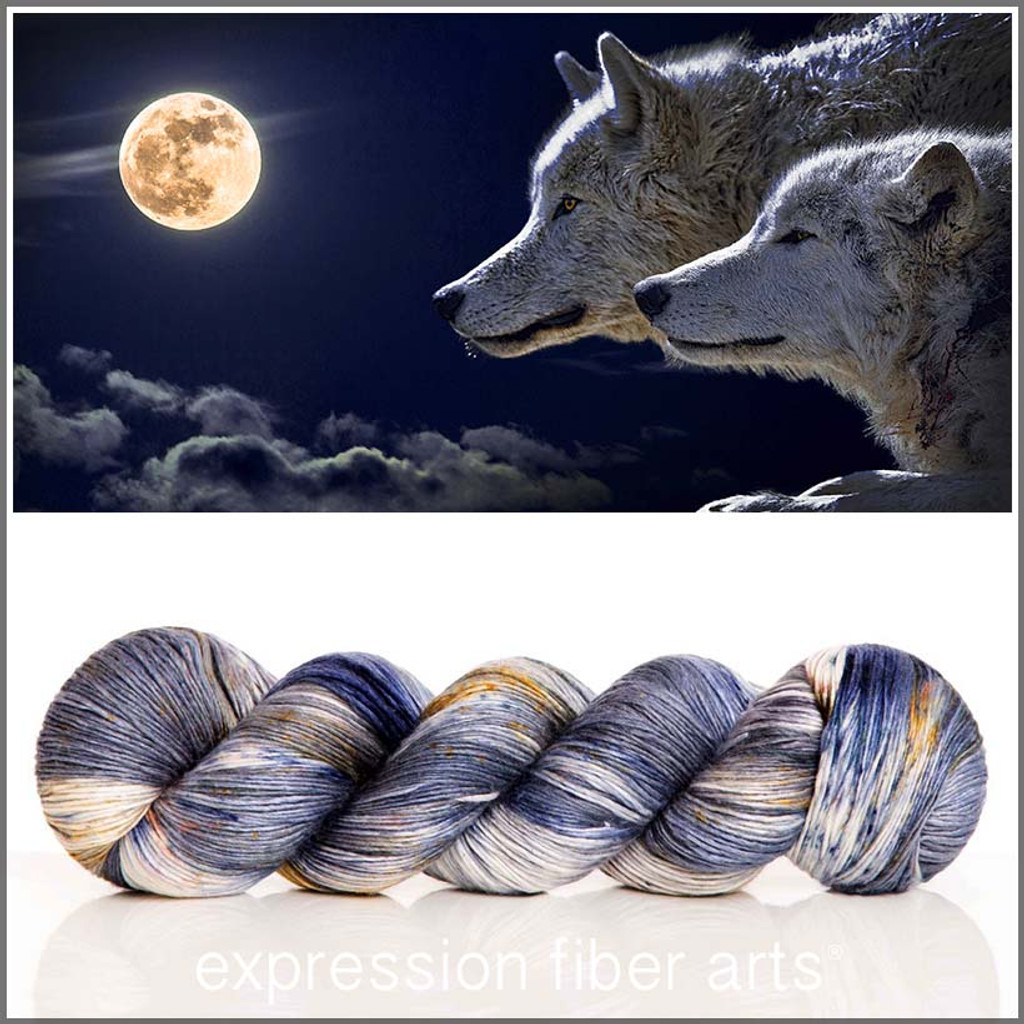 Pre-Order WOLF MOON 'PEARLESCENT' FINGERING 100g