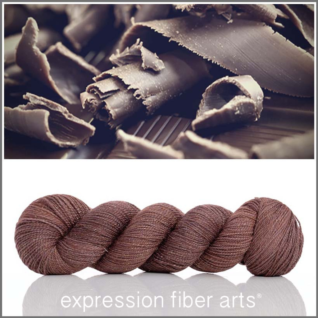 BELGIAN CHOCOLATE SHAVINGS Glimmer Fingering