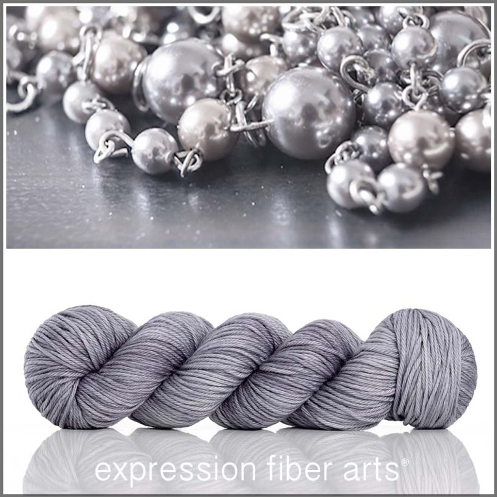 GRAY PEARL 'ENDURING' WORSTED