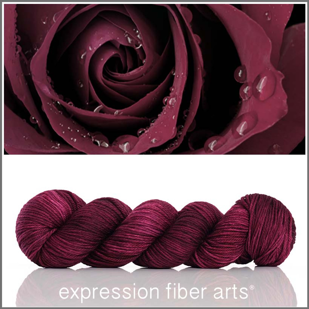 BURGUNDY 'ENDURING' WORSTED