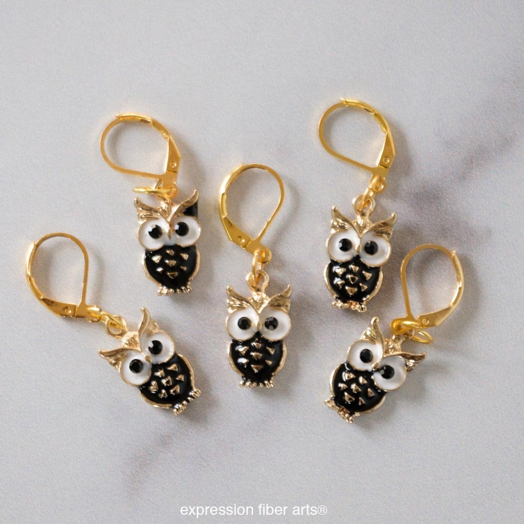 Who Stitch Markers Set of 5