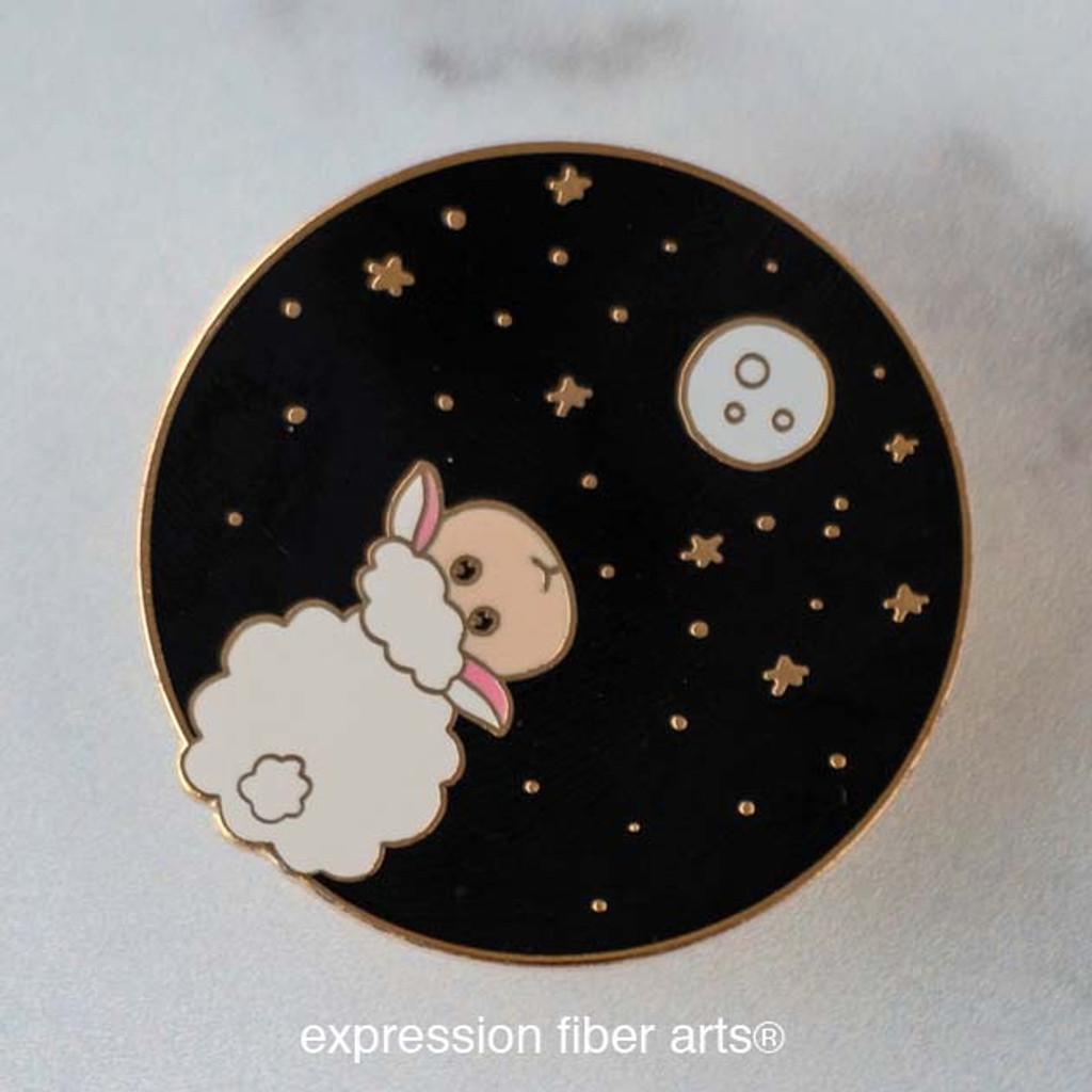 Matilda Moon-Gazing Sheep Enamel Pin