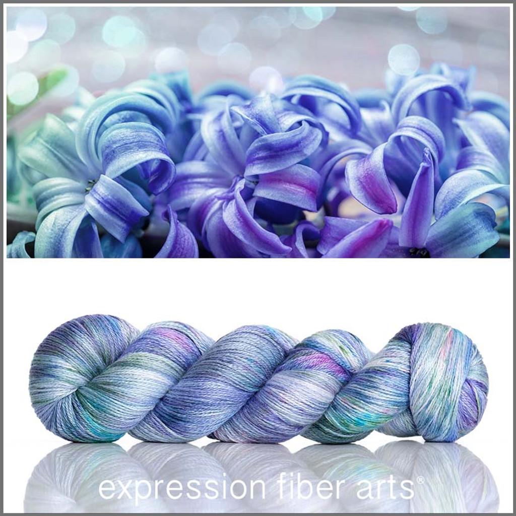 Blue Hyacinth 'OASIS' FINGERING