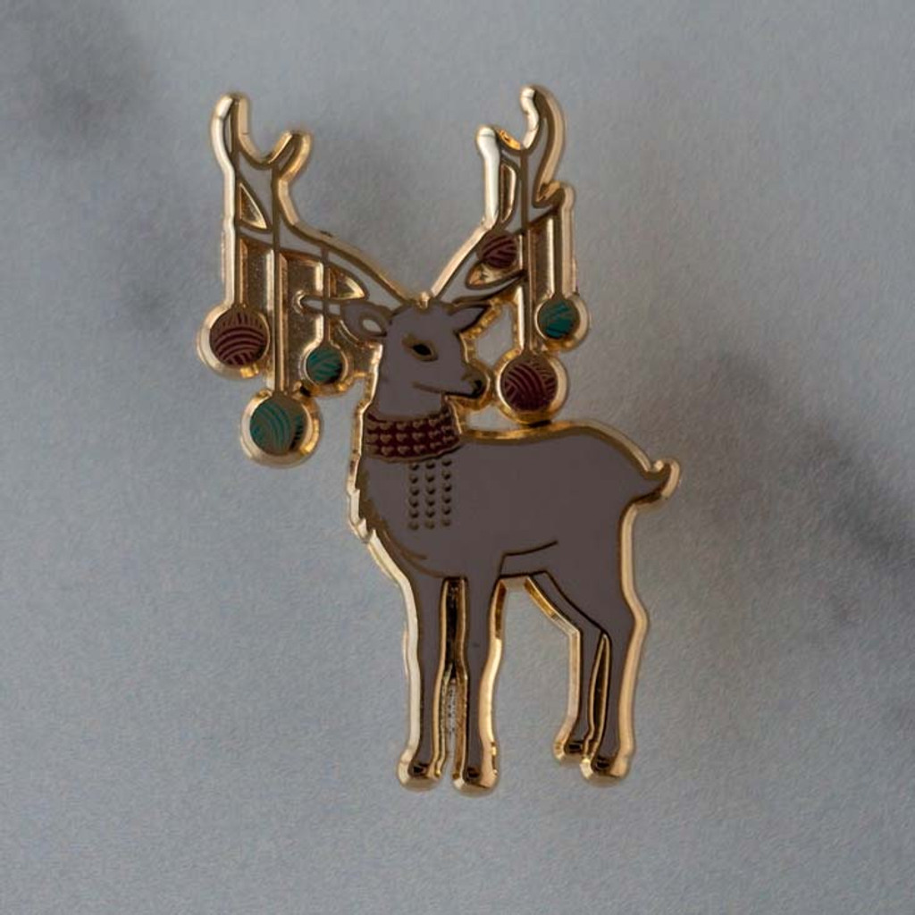 Holly the Reindeer Pin
