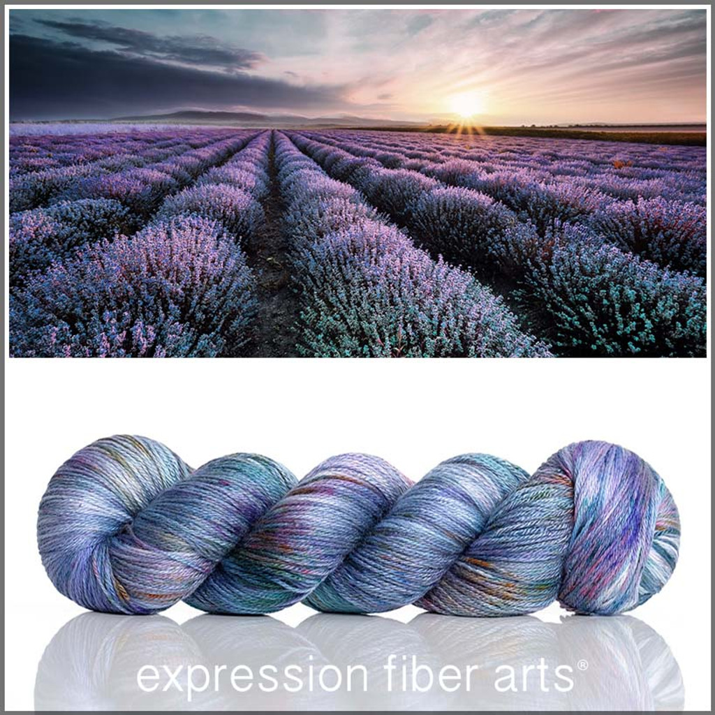 Twilight Lavender 'OASIS' FINGERING