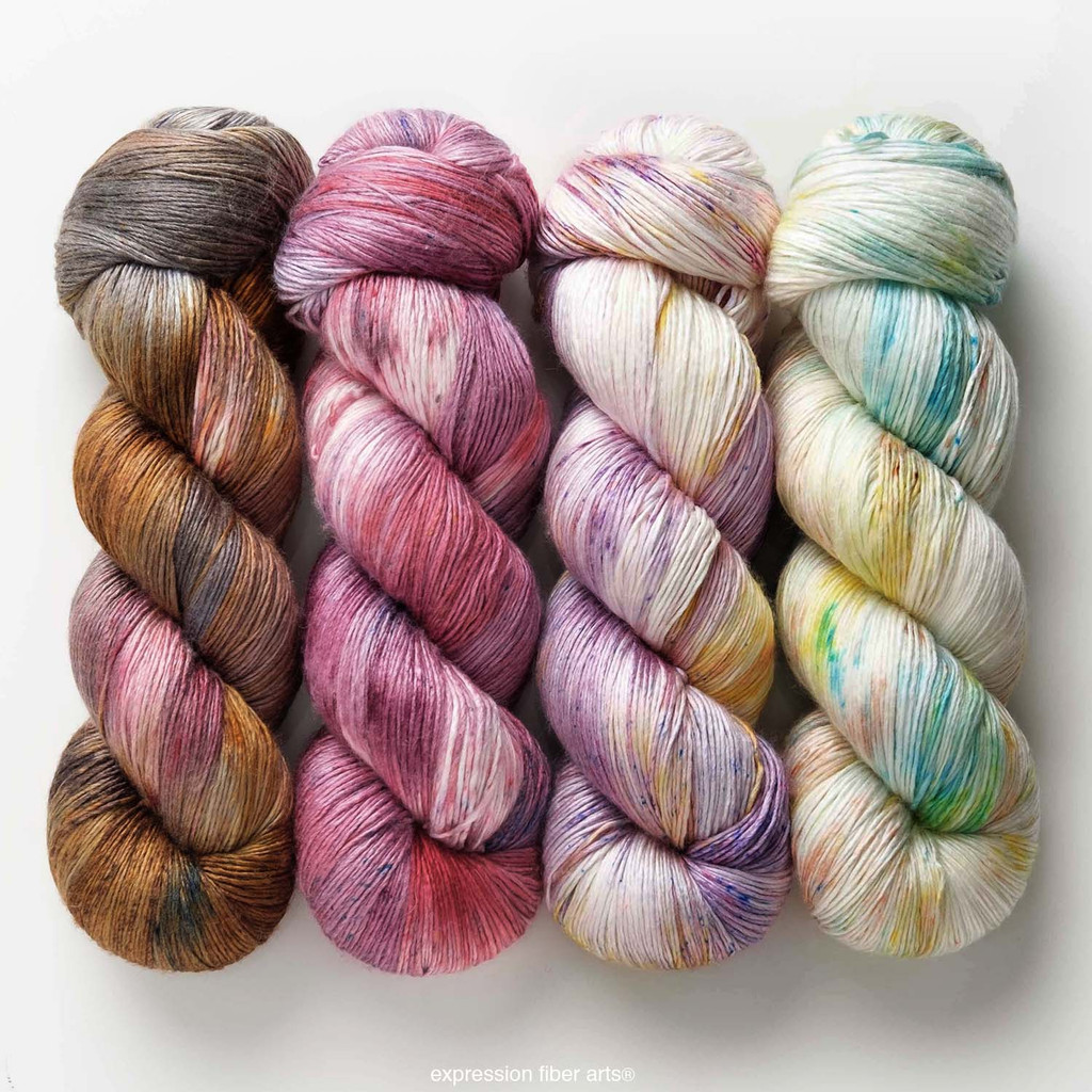 Pre-Order Ruby Eclipse Hues 'PEARLESCENT' FINGERING KIT
