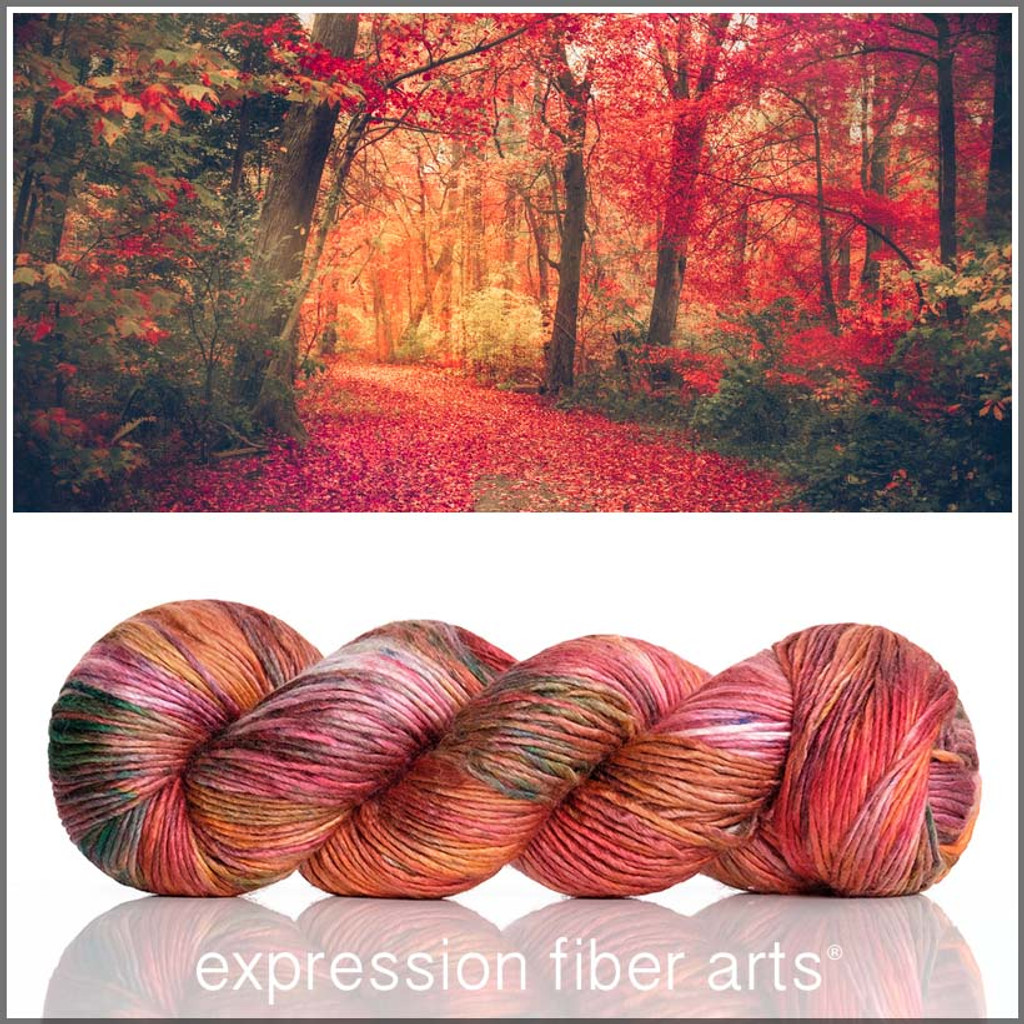 Blissful Autumn 'PEARLESCENT' WORSTED