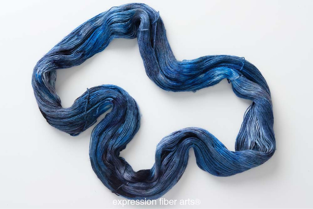 Blue Goldstone 'PEARLESCENT' FINGERING