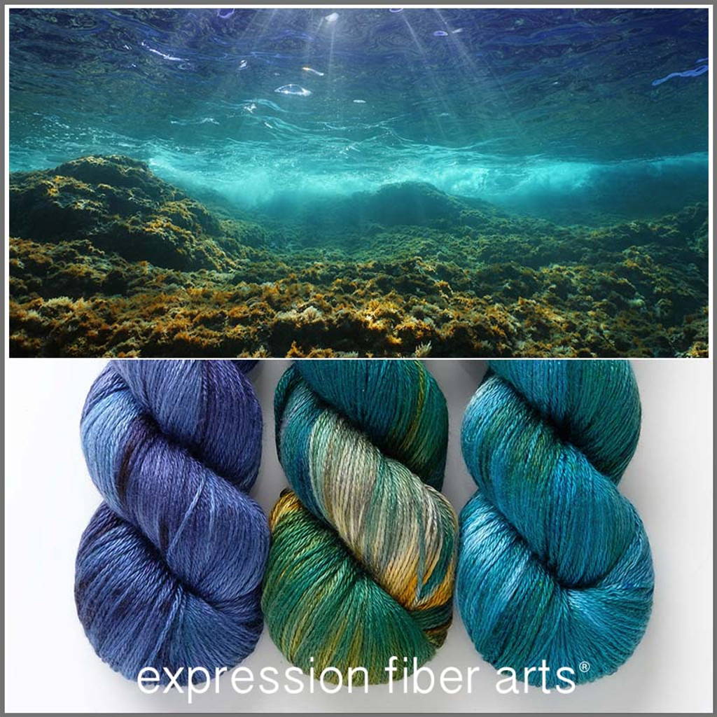 Immersed Hues 'OASIS' FINGERING