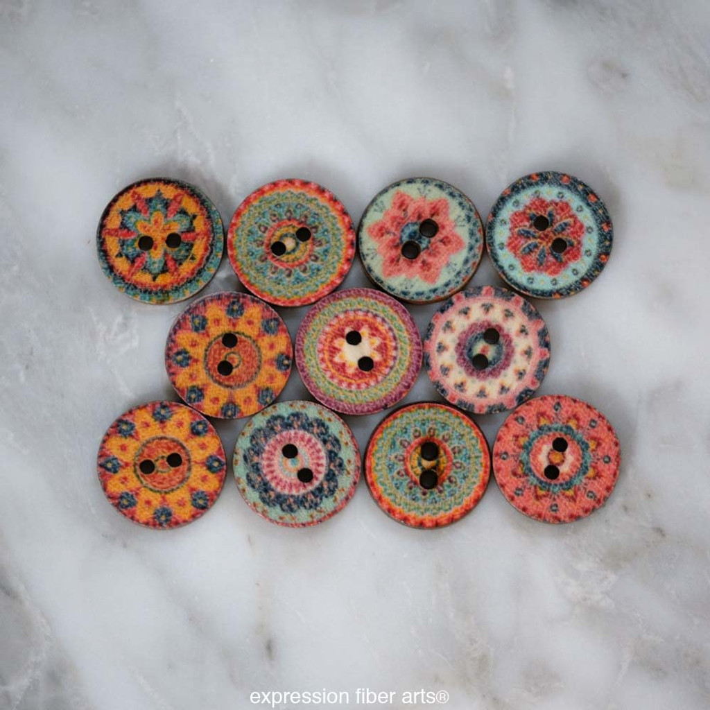 Pre-Order Sweetgum Button Pack of 11