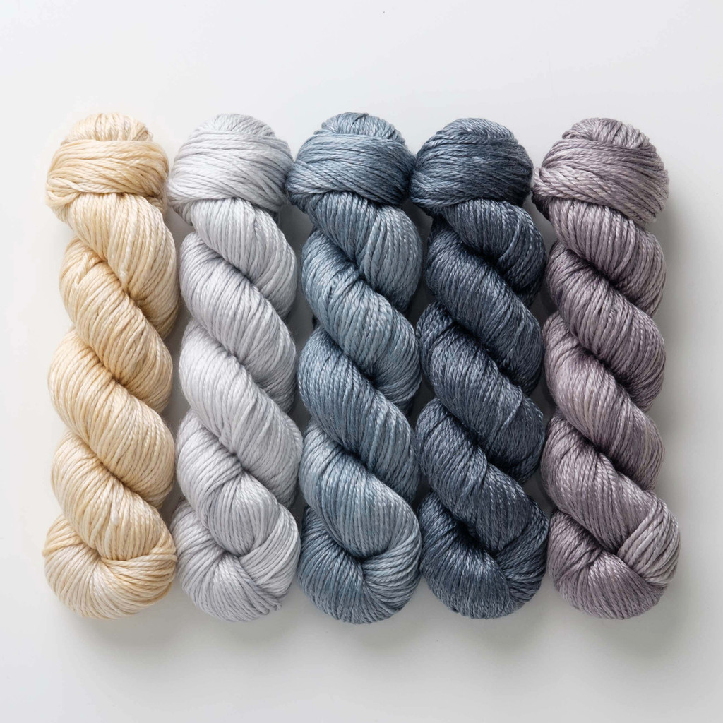 Passionflower Hues 'LUSTER' WORSTED KIT