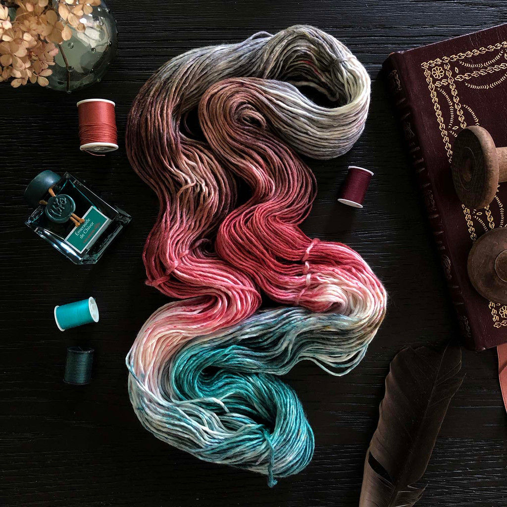 Pre-Order Embrace It All 'PEARLESCENT' WORSTED Secret Society Kit