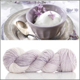PRE-ORDER LAVENDER ICE CREAM 'PEARLESCENT' WORSTED