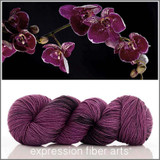 BLACK ORCHID 'RESILIENT' SOCK