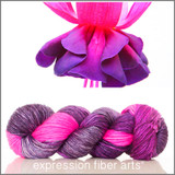 FUCHSIA FLOWER 'PEARLESCENT' WORSTED