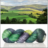 ON THE MOORS 'PEARLESCENT' WORSTED