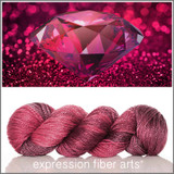 JULY RUBY 'LUSTER' WORSTED