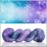 LOST IN THE FROST 'PEARLESCENT' WORSTED