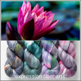 MAJESTIC WATER LILY HUES 'PEARLESCENT' FINGERING KIT