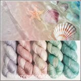 SEASHELL HUES 'PEARLESCENT' FINGERING KIT