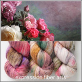 ROSEBUSH HUES 'PUFF' FINGERING KIT